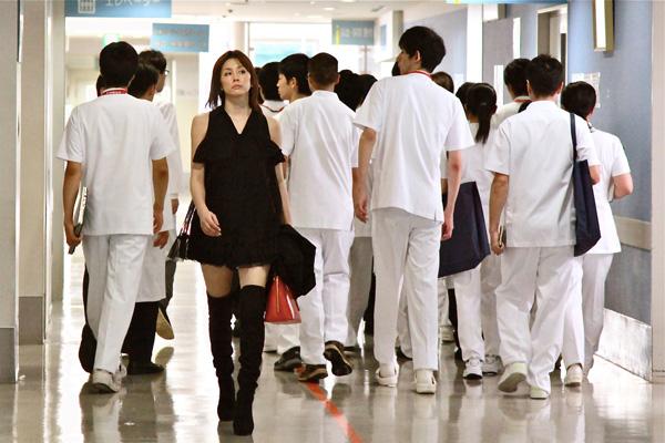 Surgeon Michiko Daimon...